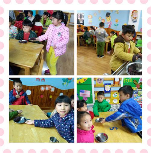 幼儿园教室墙面主题布置盘子
